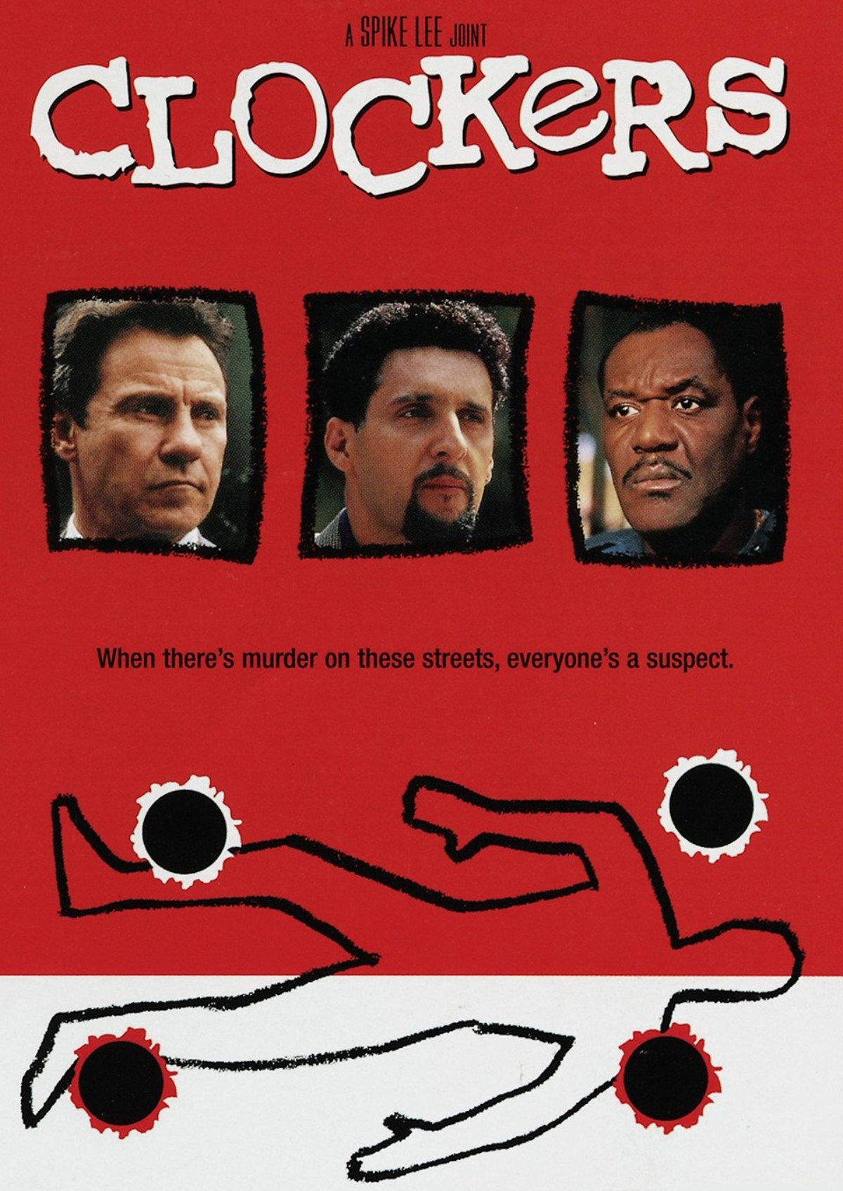 'Clockers' movie poster