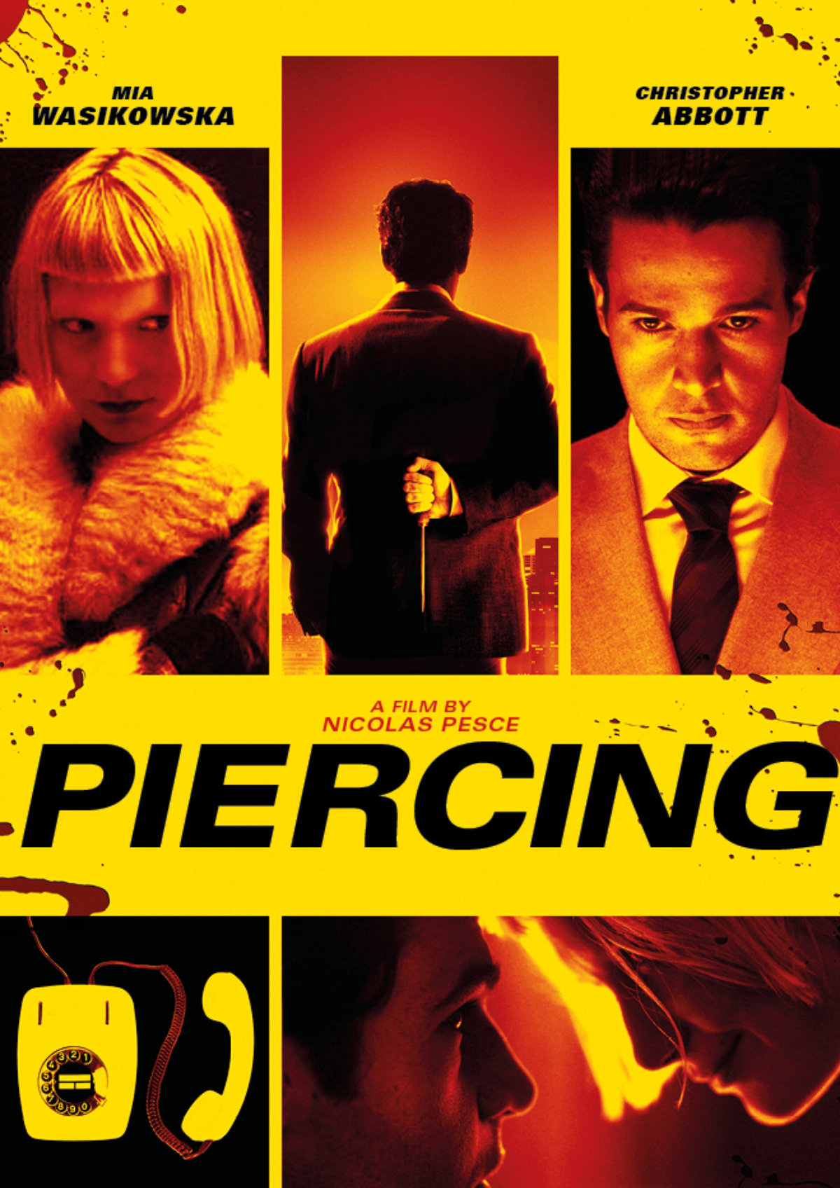 'Piercing' movie poster