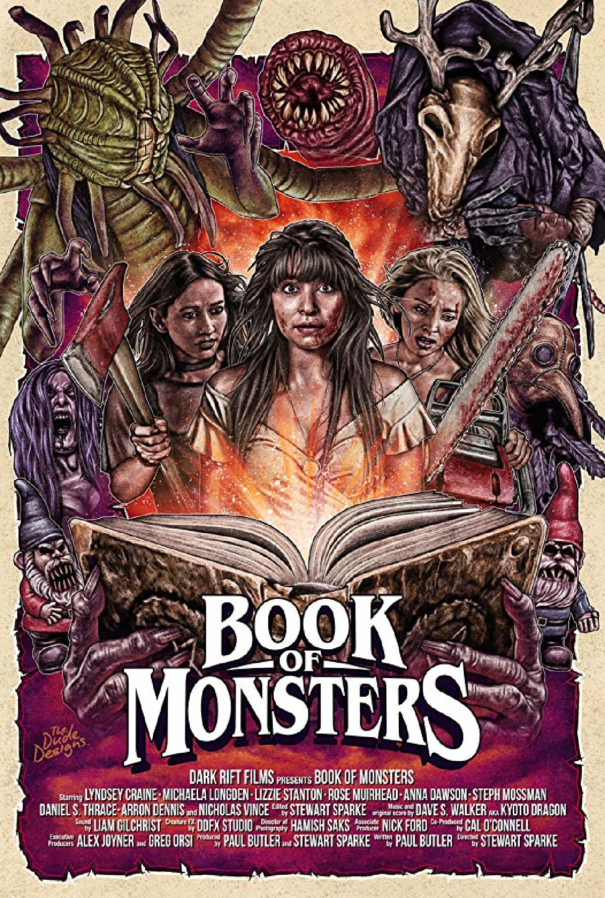 'Book of Monsters' movie poster