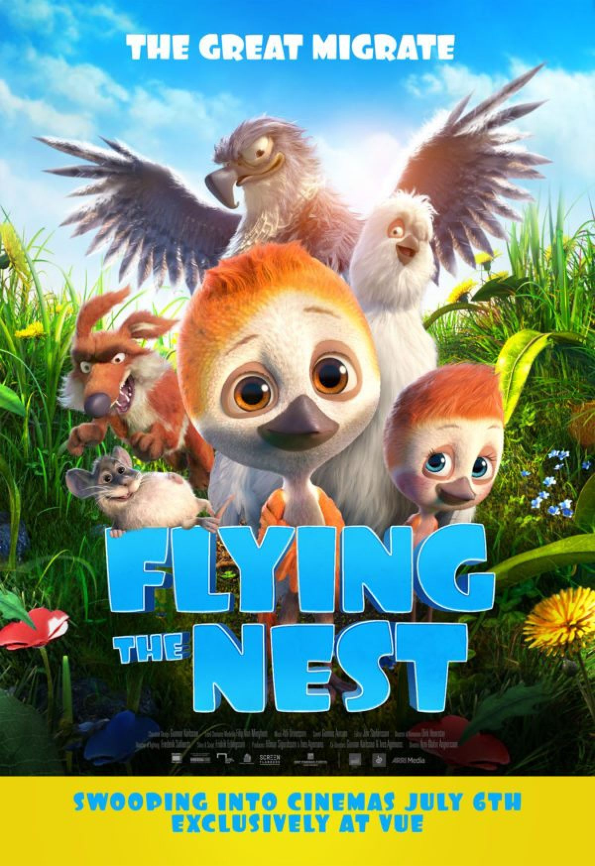 'Flying The Nest' movie poster