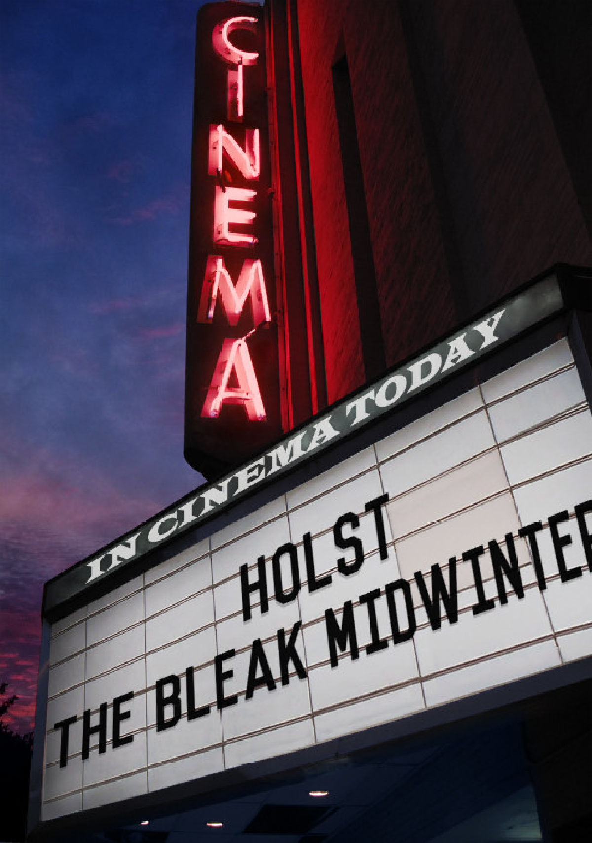 'Holst: In The Bleak Midwinter' movie poster