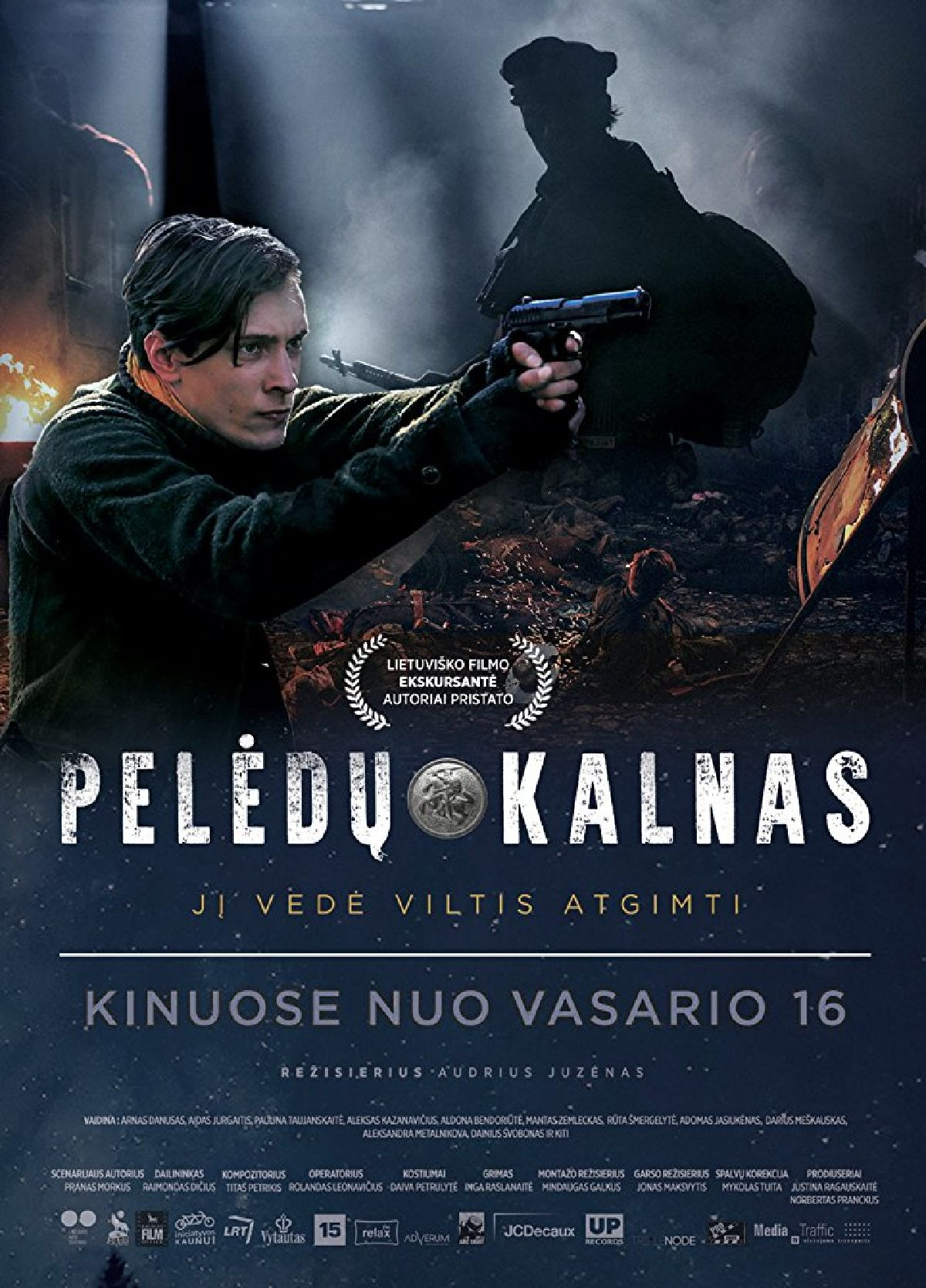 'Peledu Kalnas' movie poster