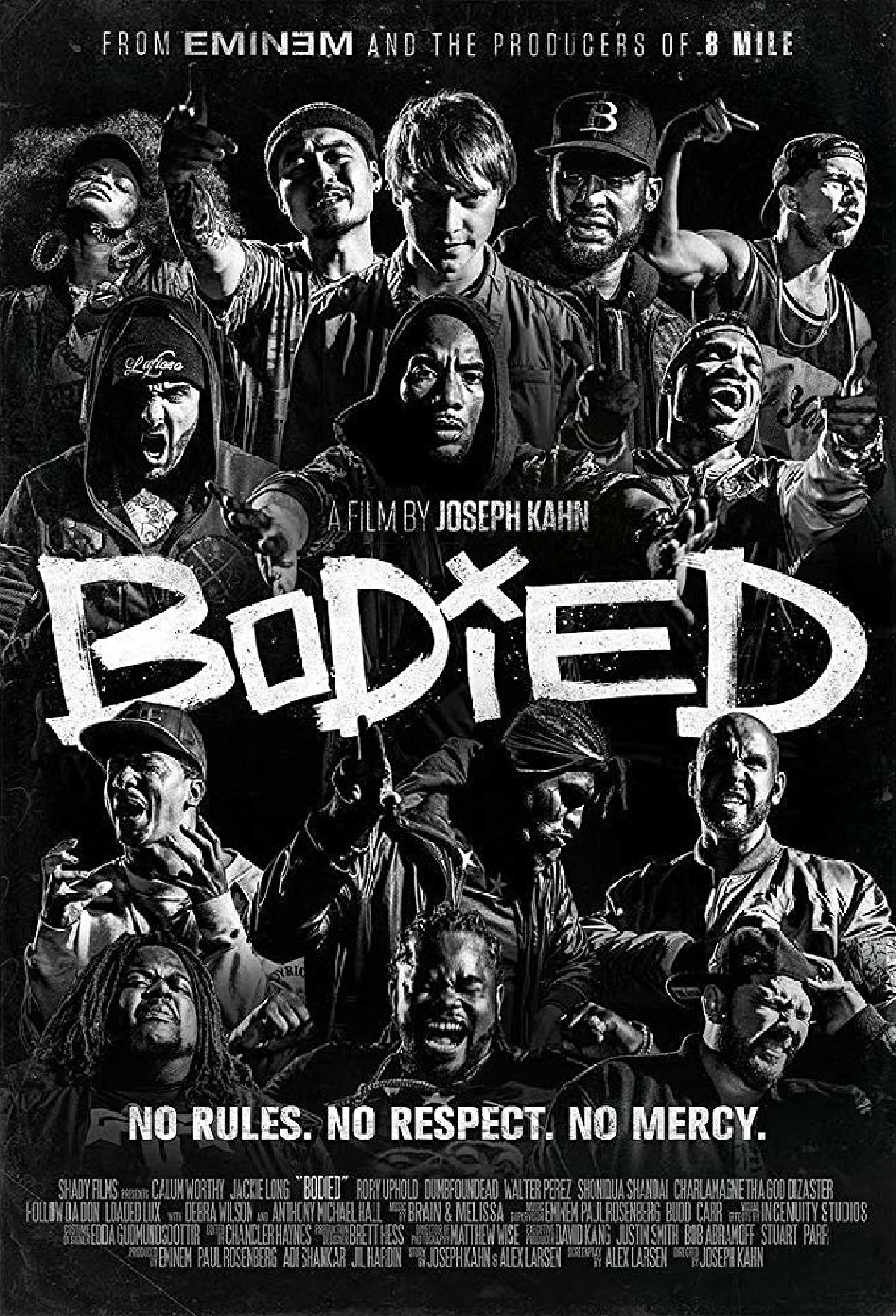 'Bodied' movie poster