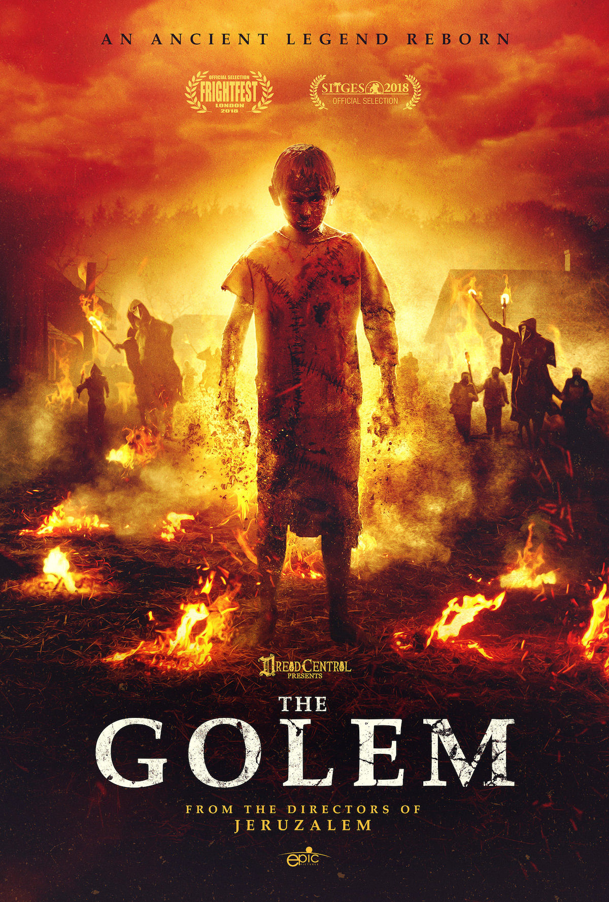 'The Golem' movie poster