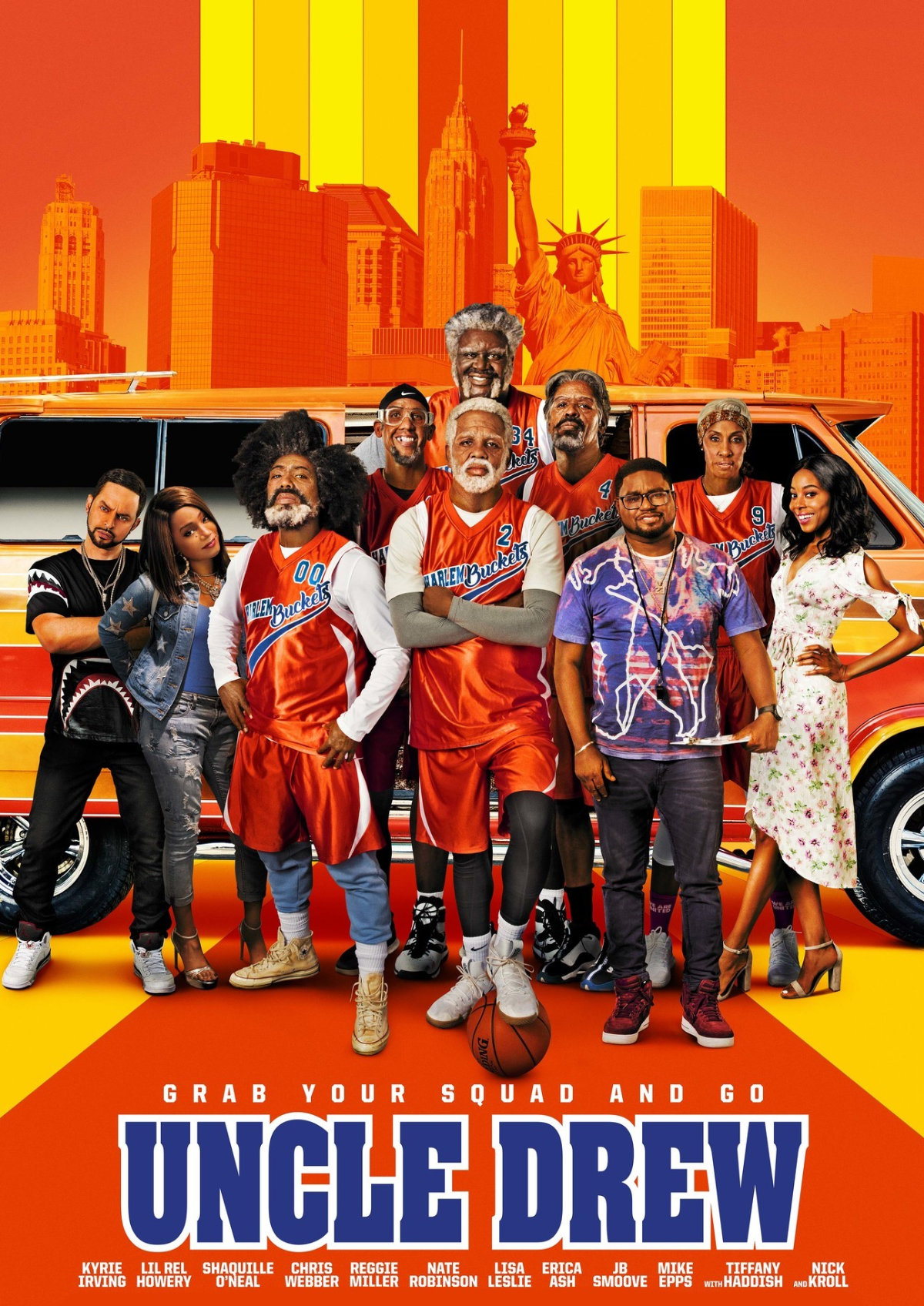 'Uncle Drew' movie poster