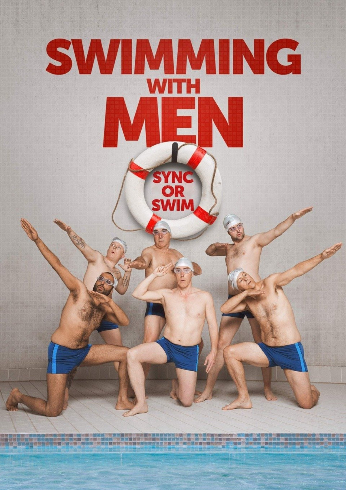'Swimming With Men' movie poster