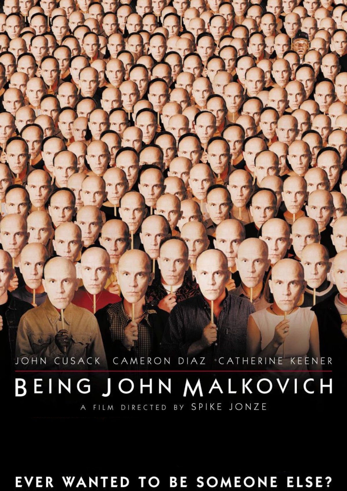 'Being John Malkovich' movie poster