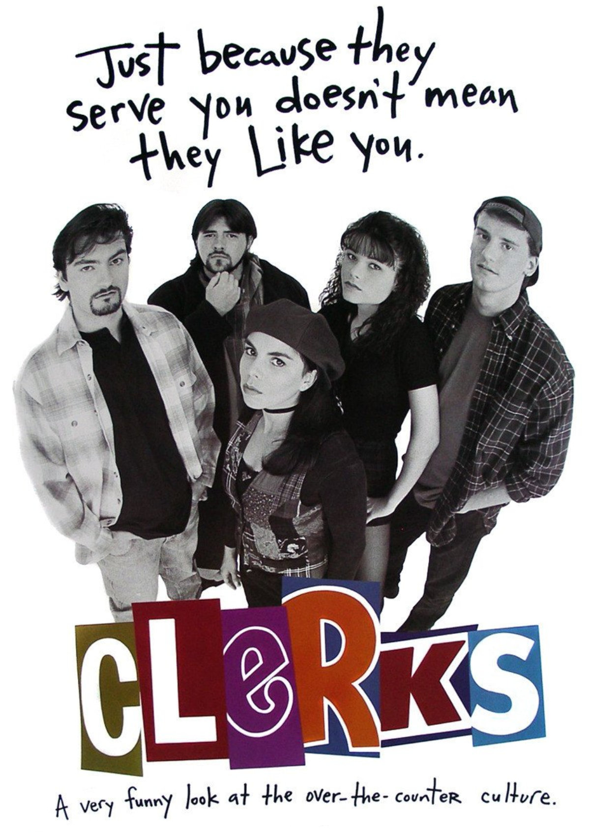 'Clerks' movie poster