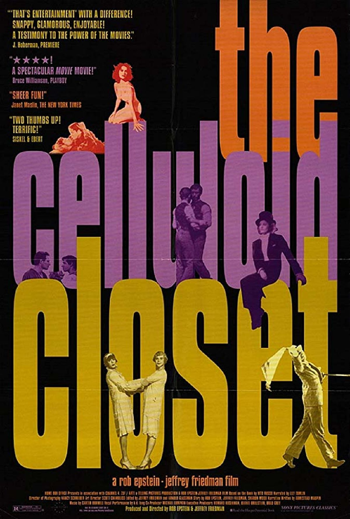 'The Celluloid Closet' movie poster