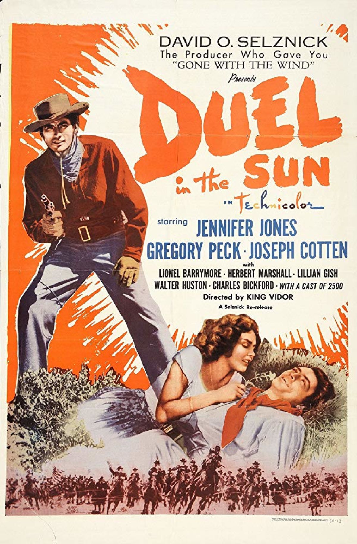 'Duel In The Sun' movie poster