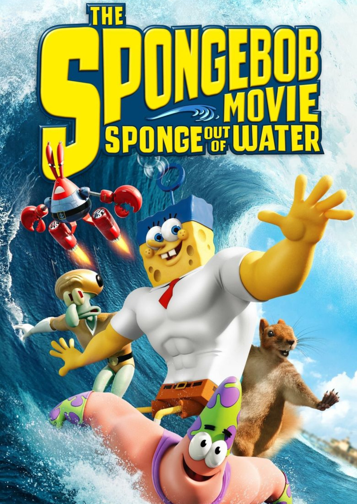 'The SpongeBob Movie: Sponge Out Of Water' movie poster