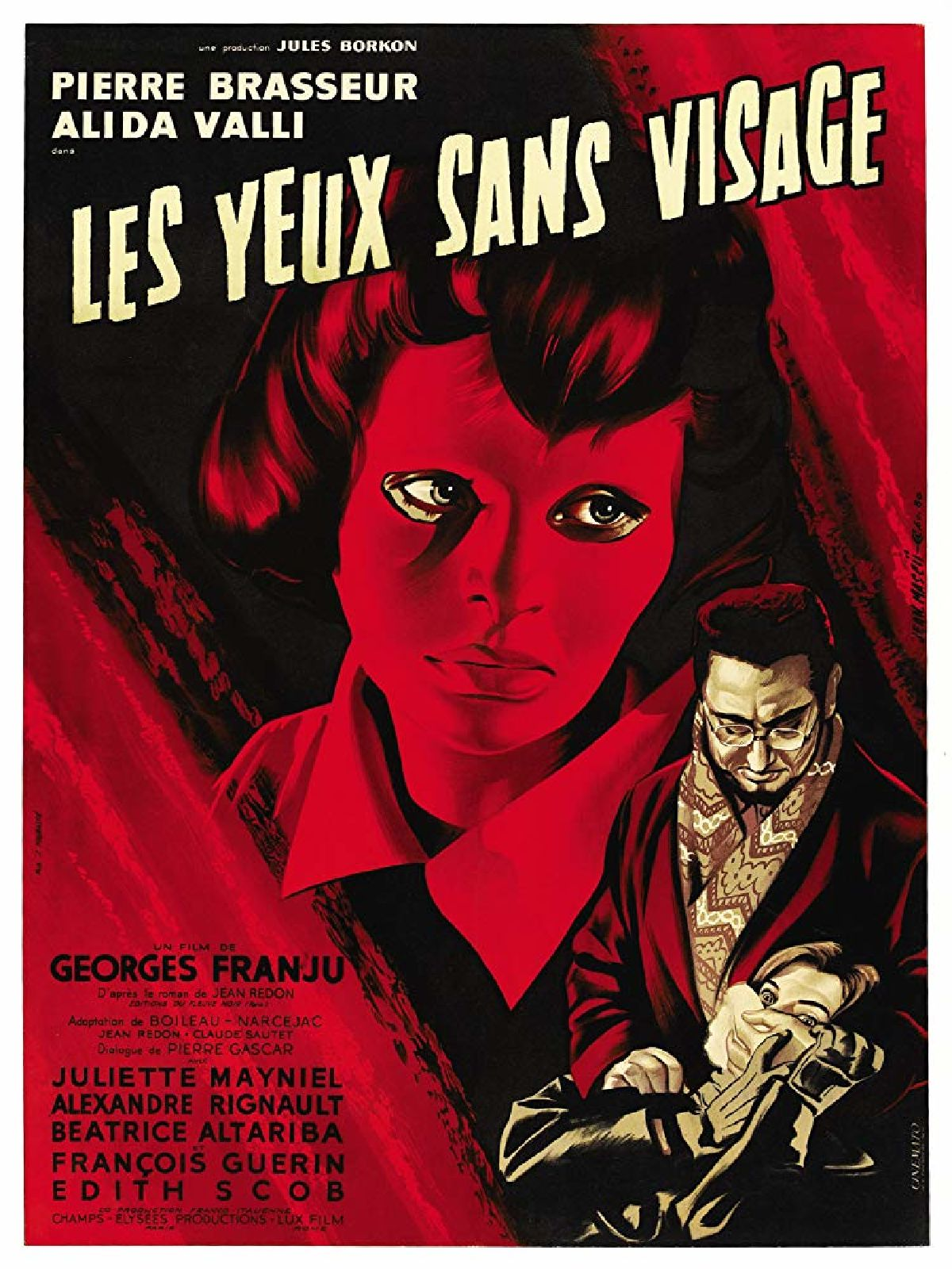 'Eyes Without A Face (Les Yeux Sans Visage)' movie poster