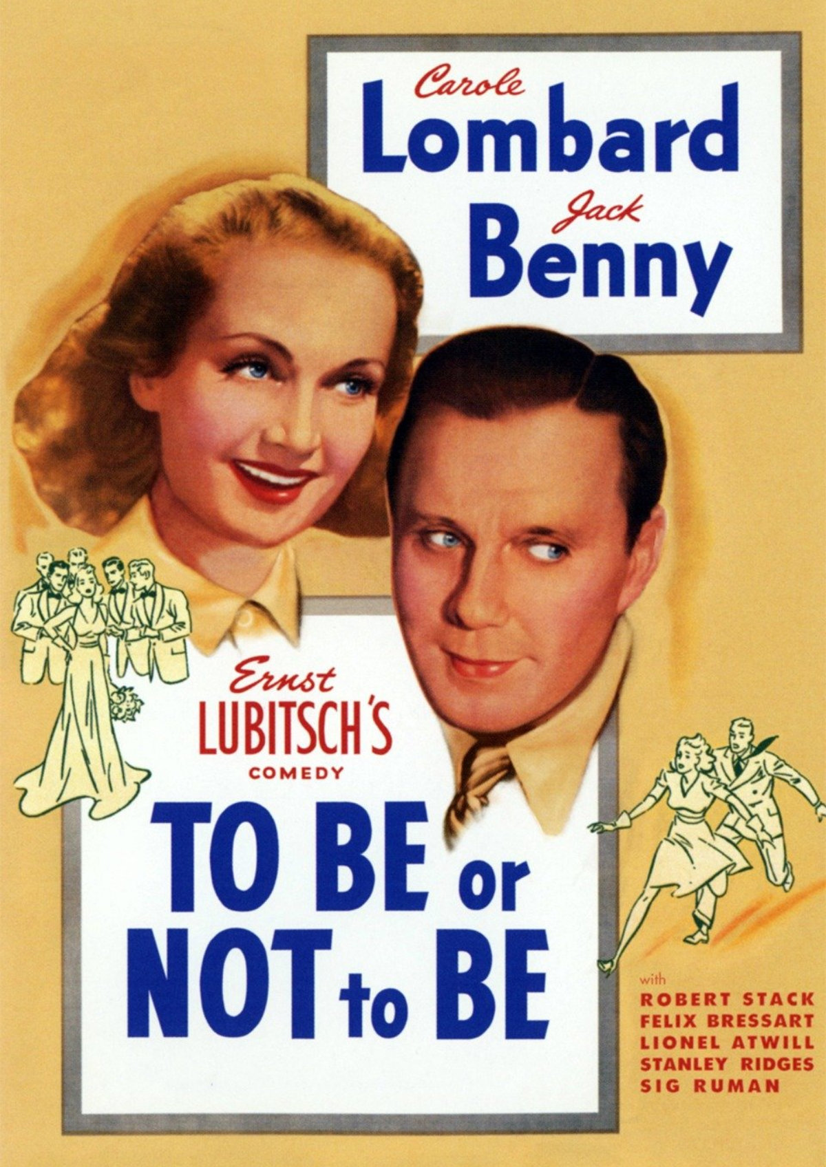 'To Be Or Not To Be (1942)' movie poster