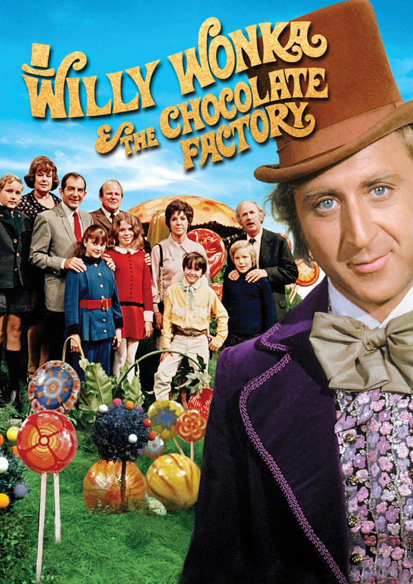 'Willy Wonka & the Chocolate Factory' movie poster