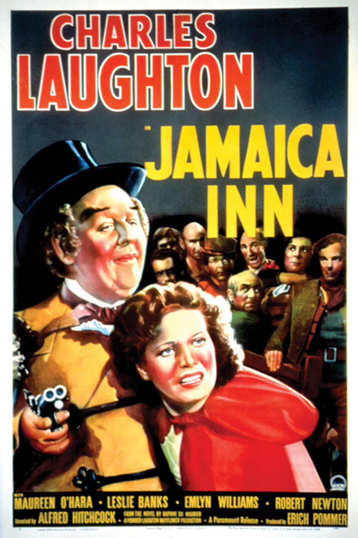 'Jamaica Inn' movie poster