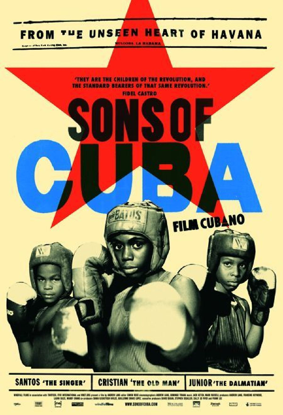 'Sons Of Cuba' movie poster