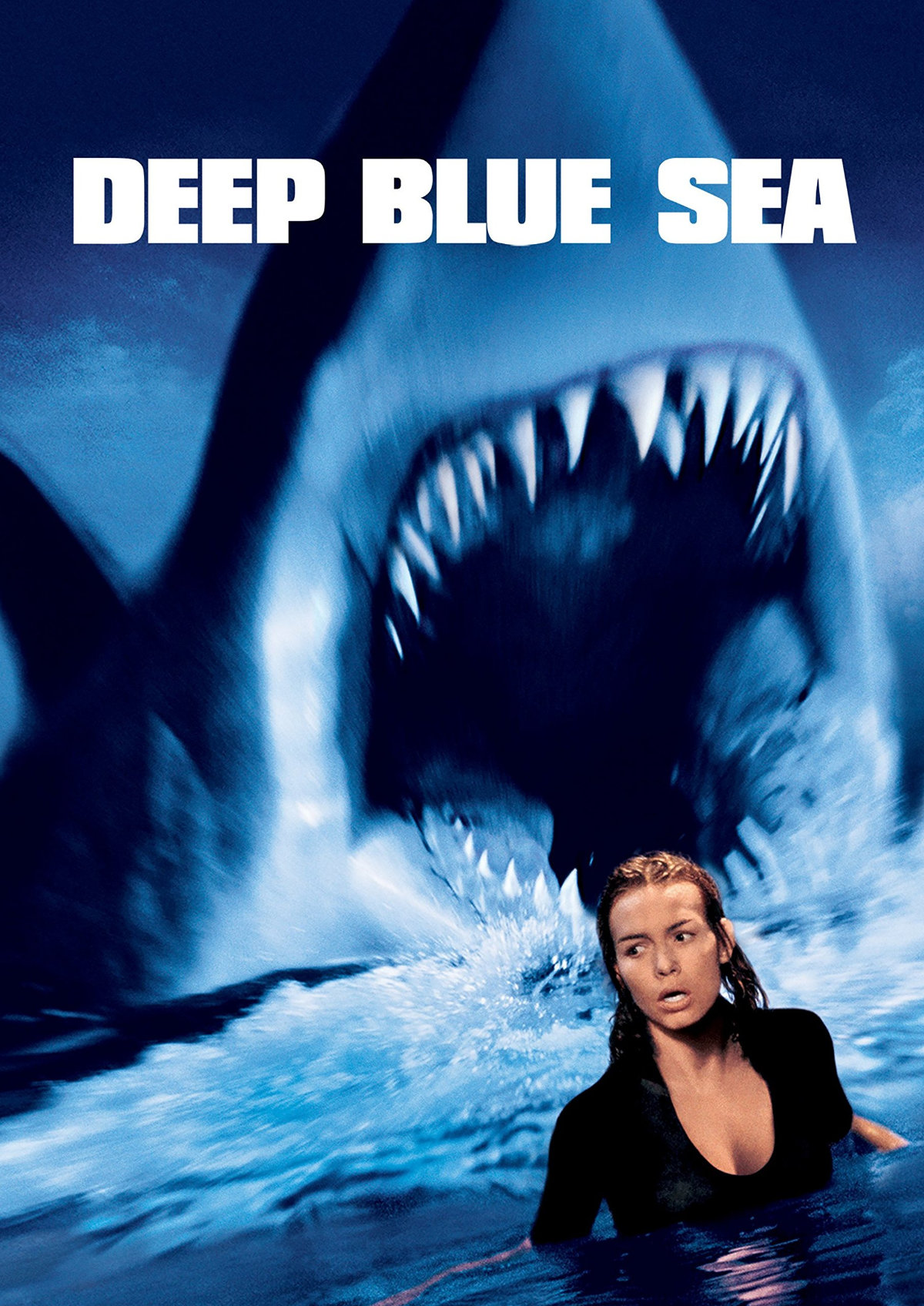 'Deep Blue Sea' movie poster