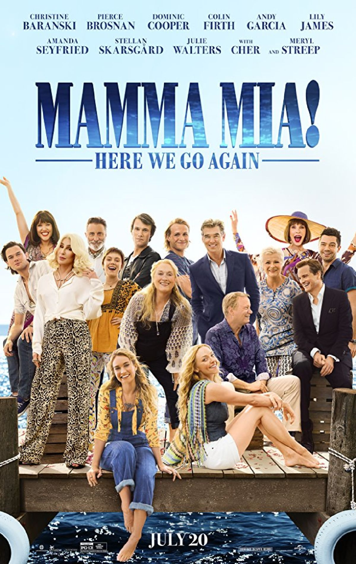 'Mamma Mia! Here We Go Again' movie poster