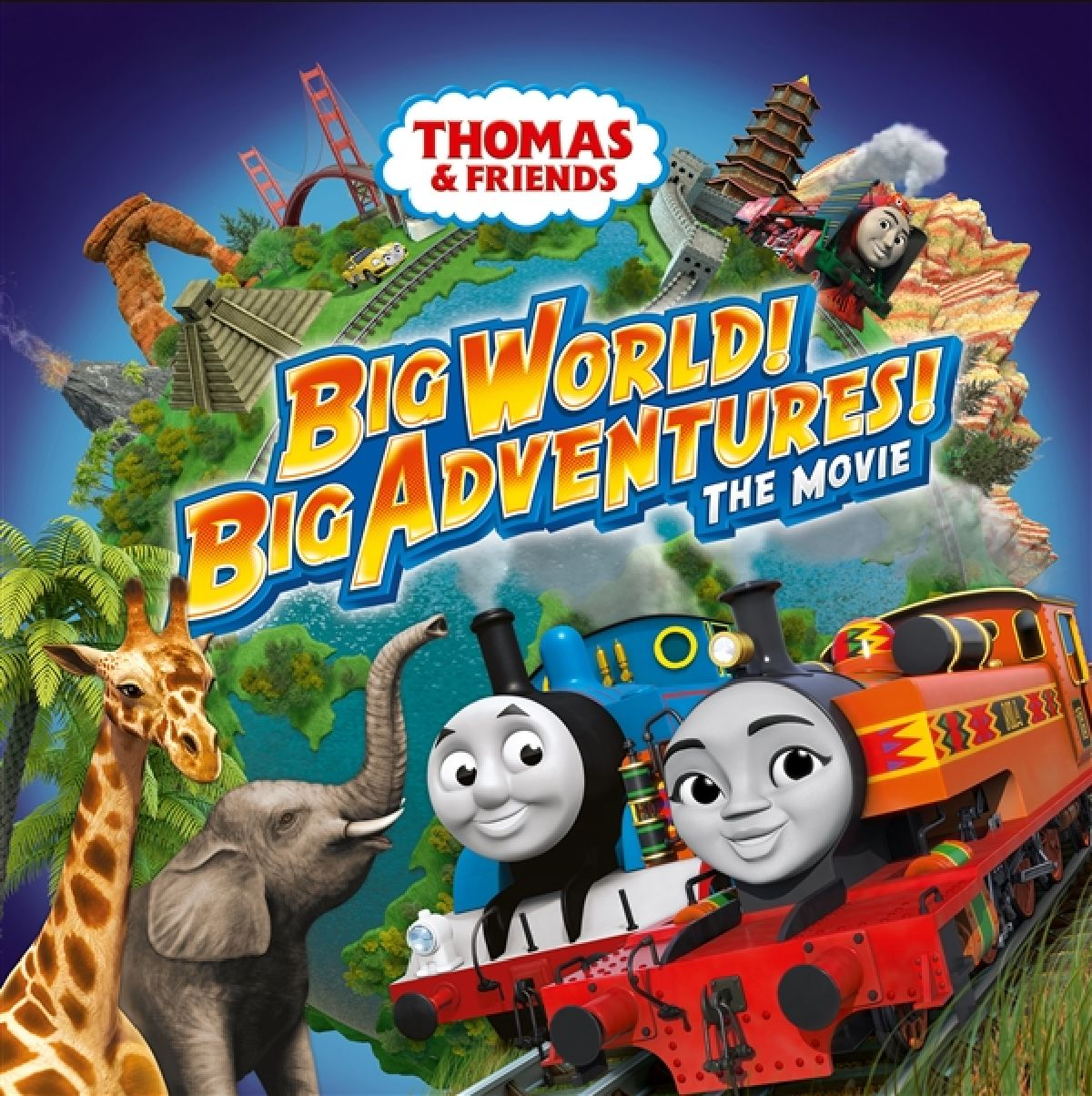 'Thomas & Friends: Big World! Big Adventures! The Movie' movie poster