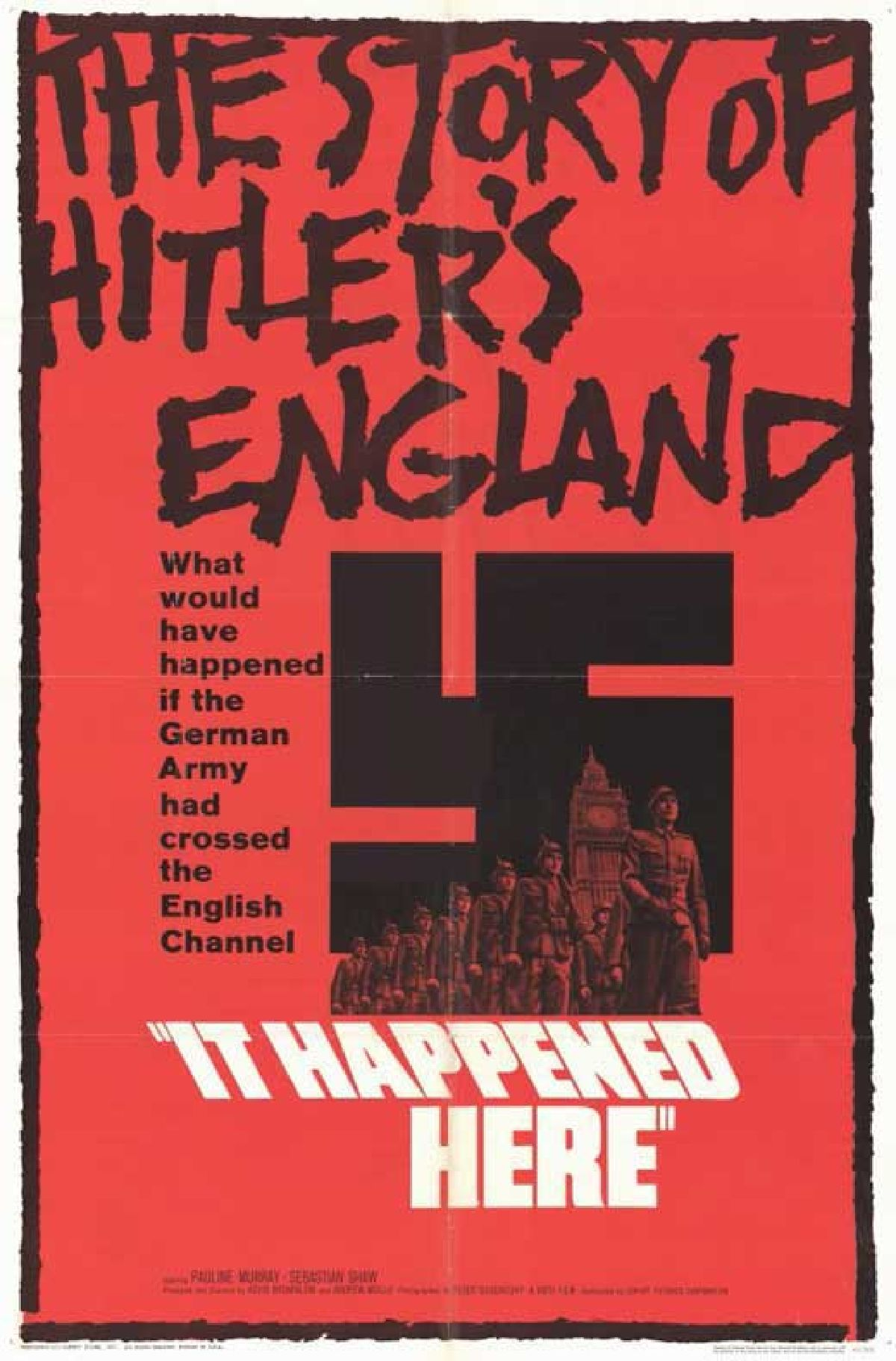 'It Happened Here' movie poster