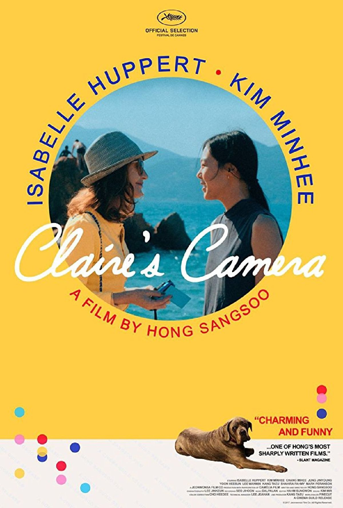 'Claire's Camera' movie poster