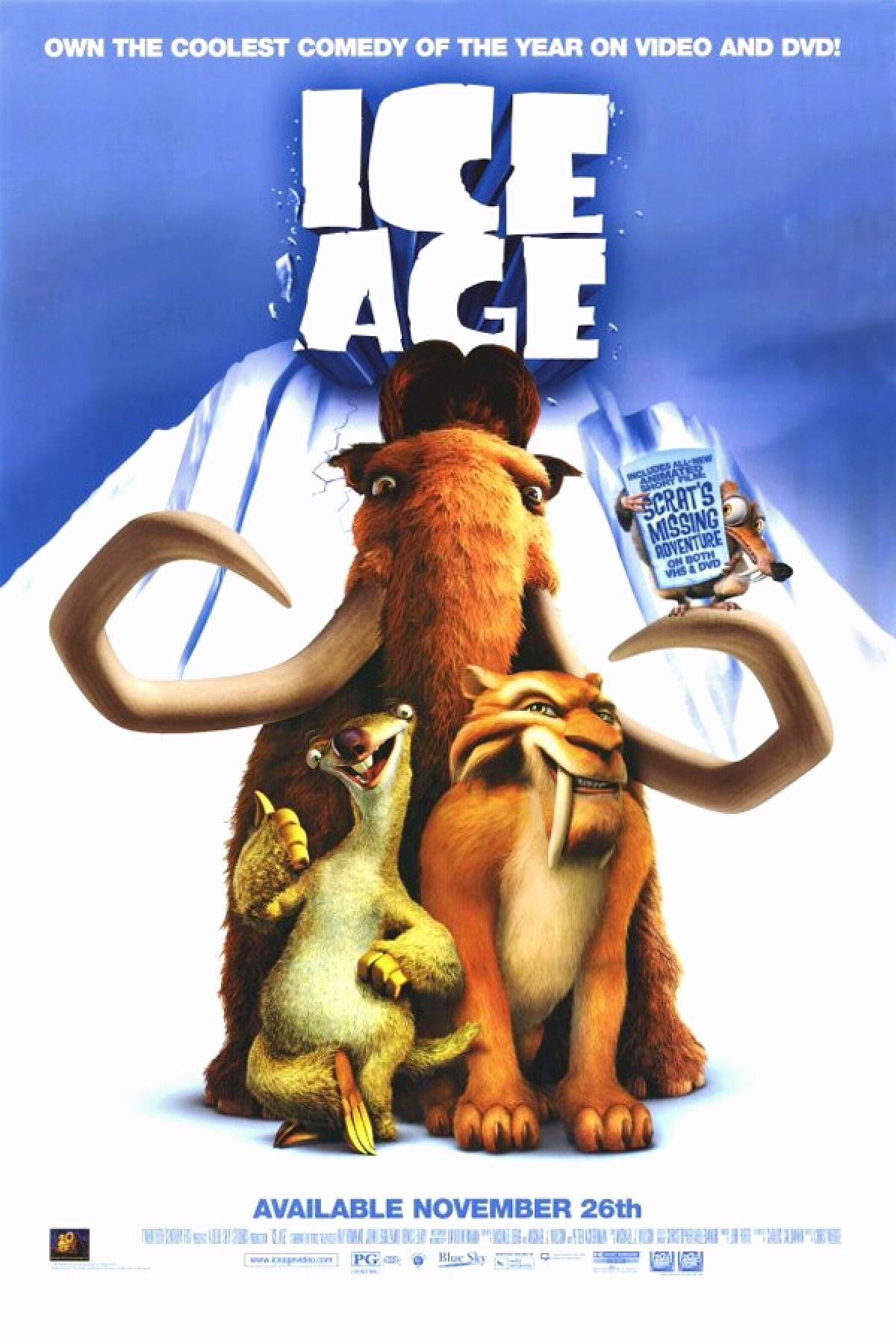 'Ice Age' movie poster