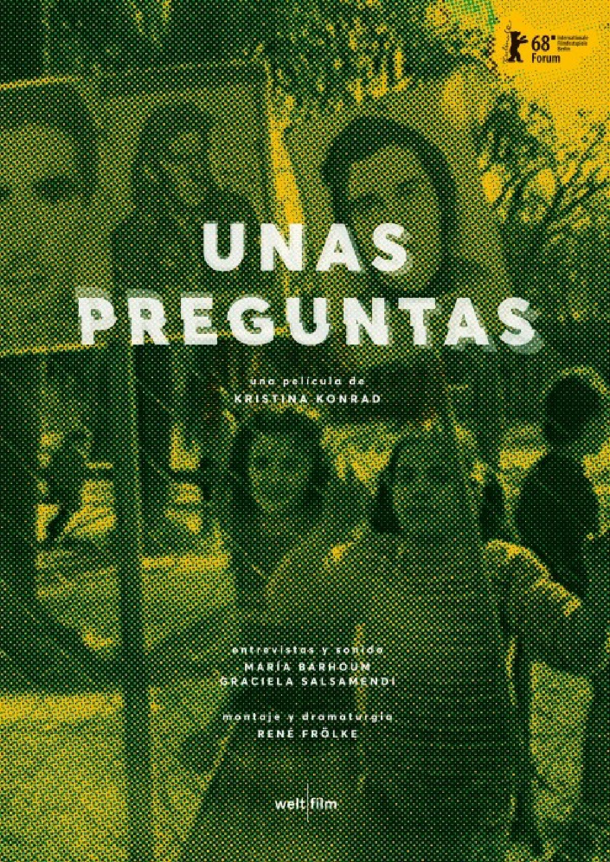 'One Or Two Questions (Unas Preguntas)' movie poster