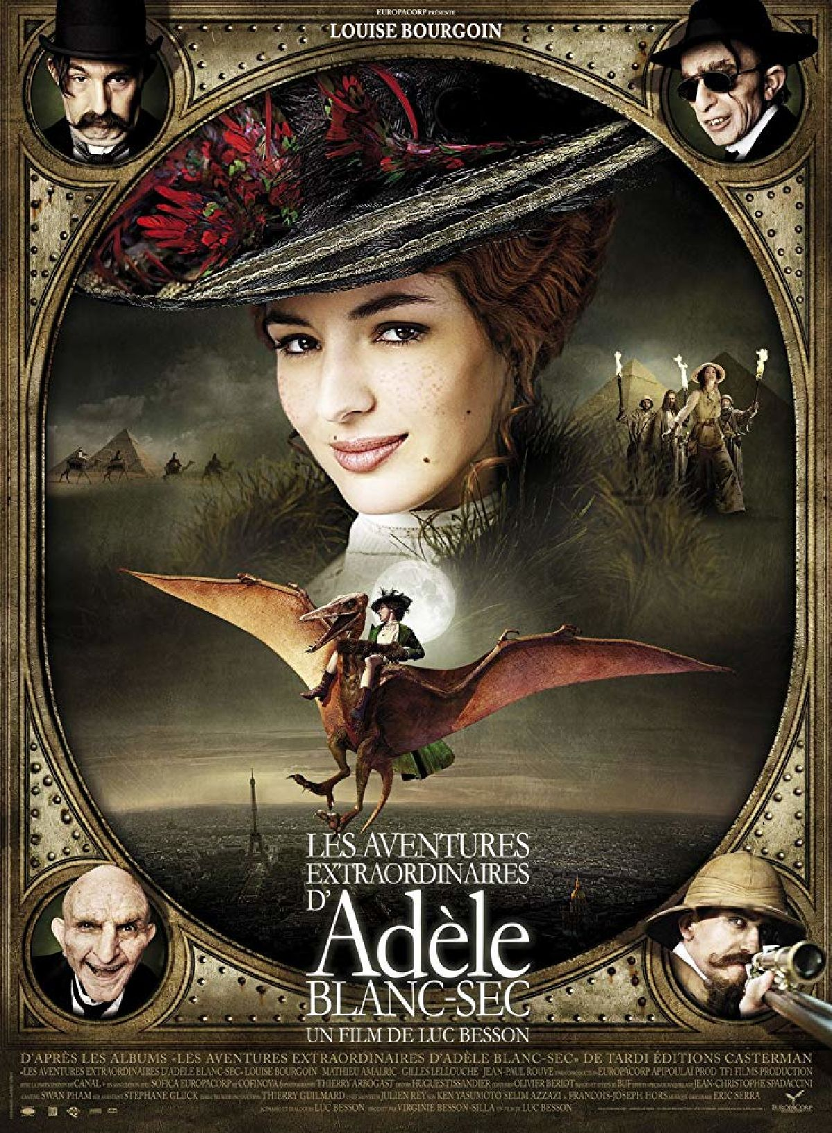 'The Extraordinary Adventures Of Adele Blanc-Sec (Les Aventures Extraordinaires D'Adele Blanc-Sec)' movie poster