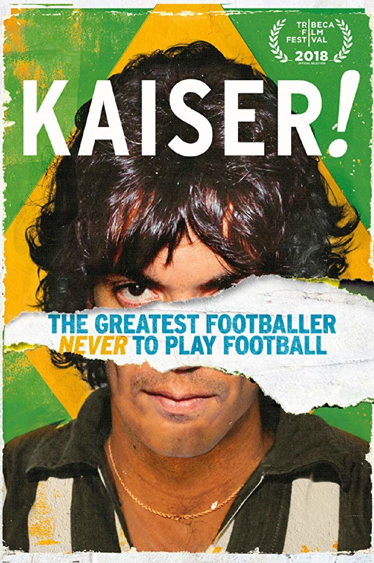 'Kaiser: The Greatest Footballer Never To Play Football' movie poster