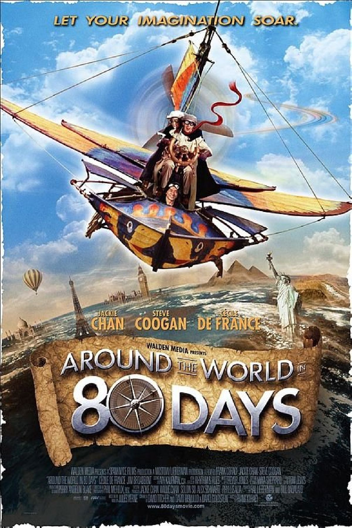 'Around The World In 80 Days' movie poster