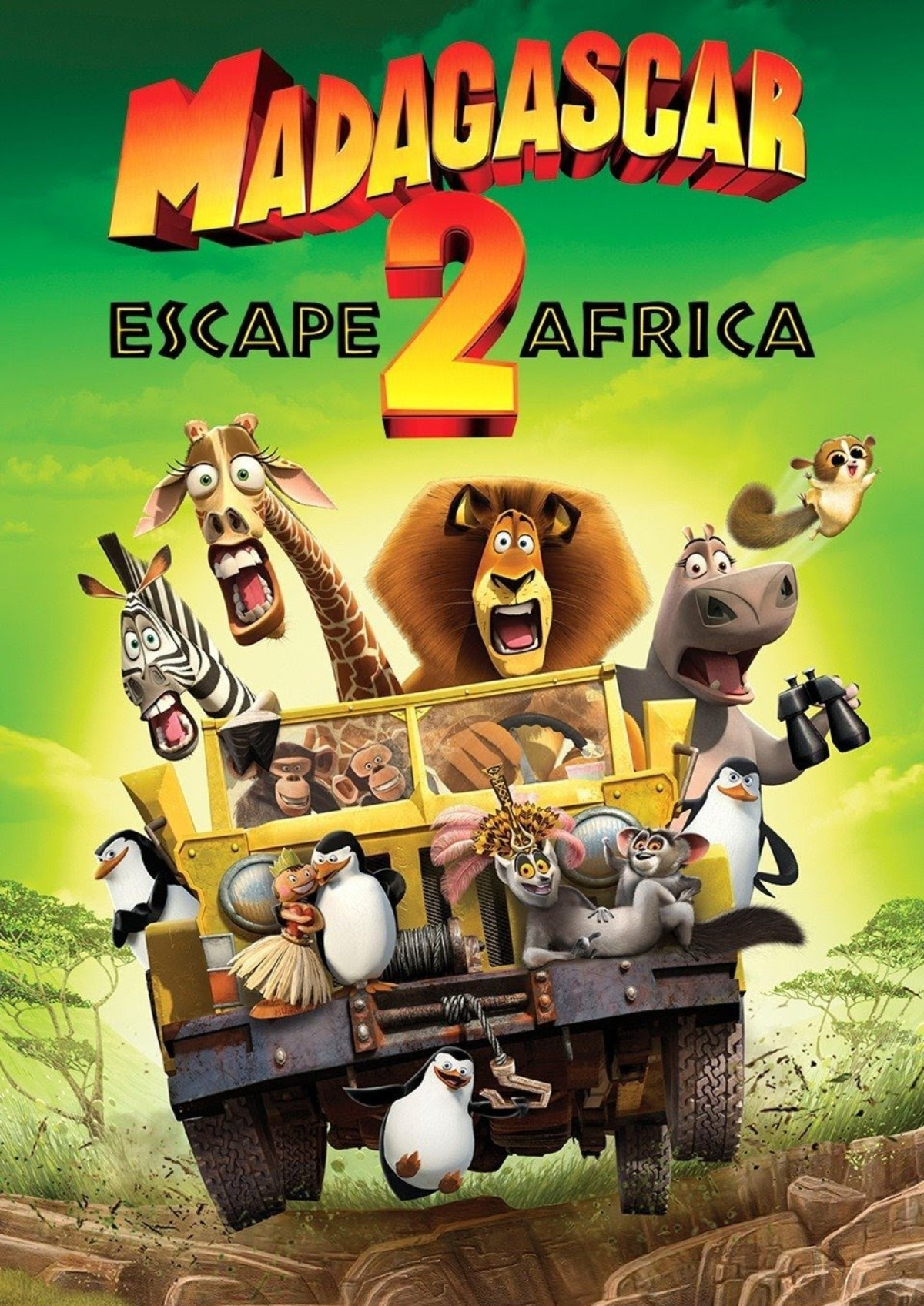 'Madagascar: Escape 2 Africa' movie poster