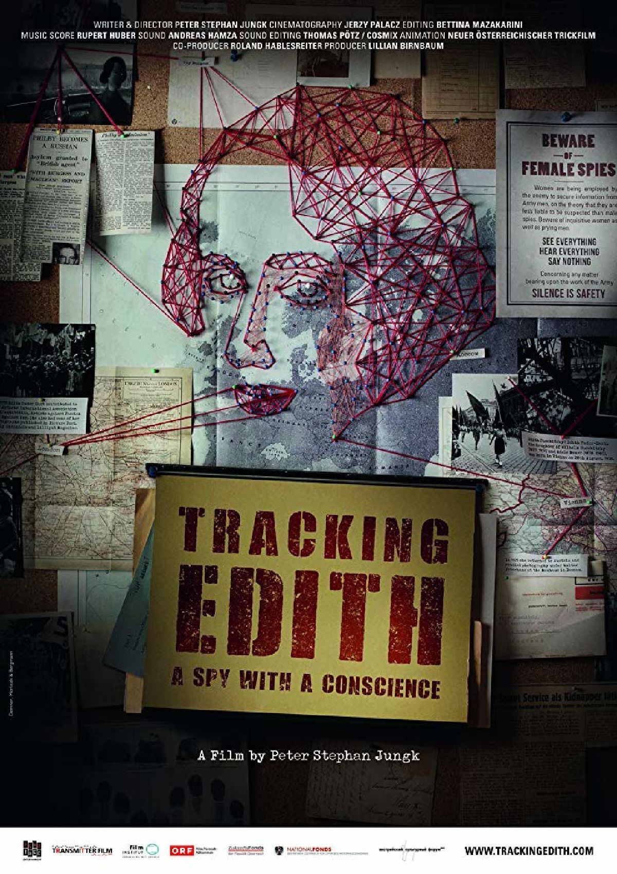 'Tracking Edith' movie poster