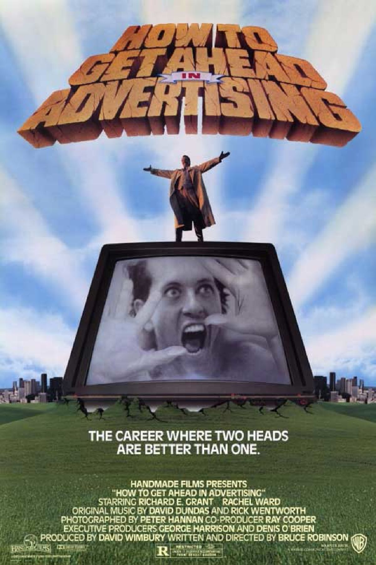 'How To Get Ahead In Advertising' movie poster