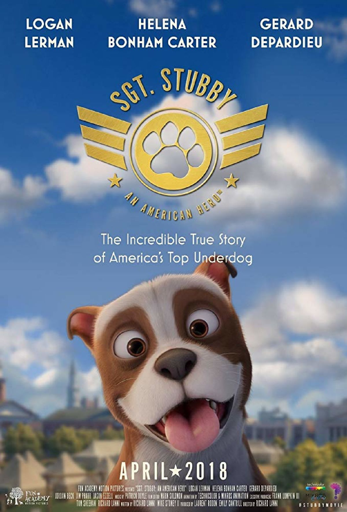 'Sgt. Stubby: An American Hero' movie poster