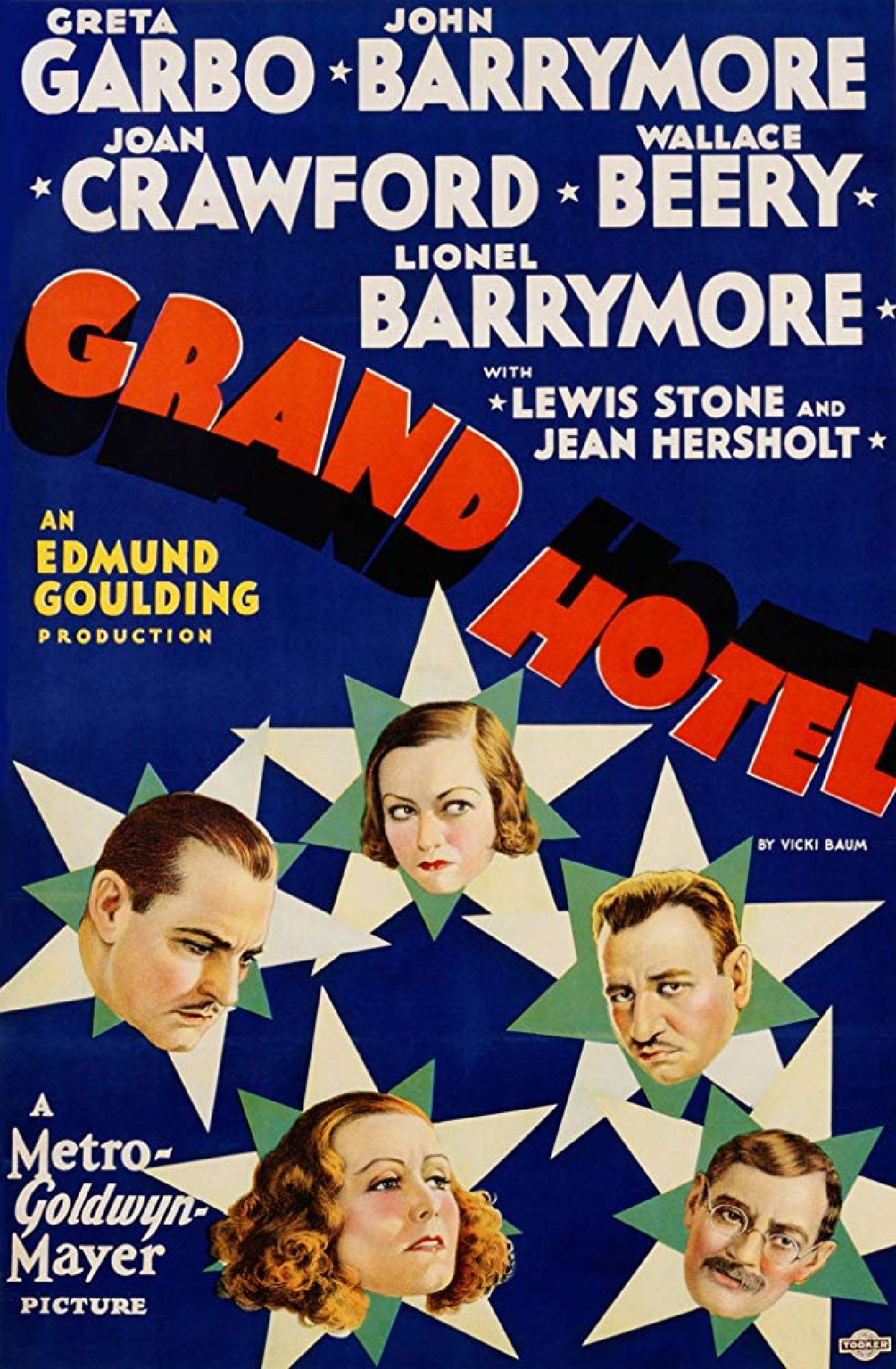'Grand Hotel' movie poster