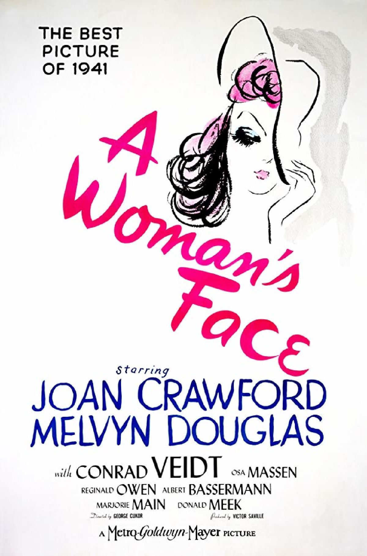 'A Woman's Face' movie poster