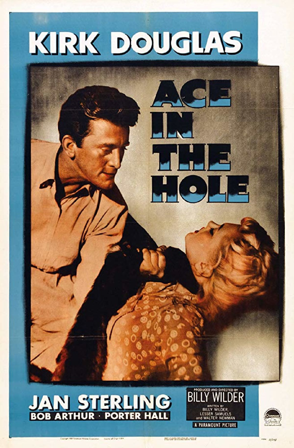 'Ace In The Hole' movie poster