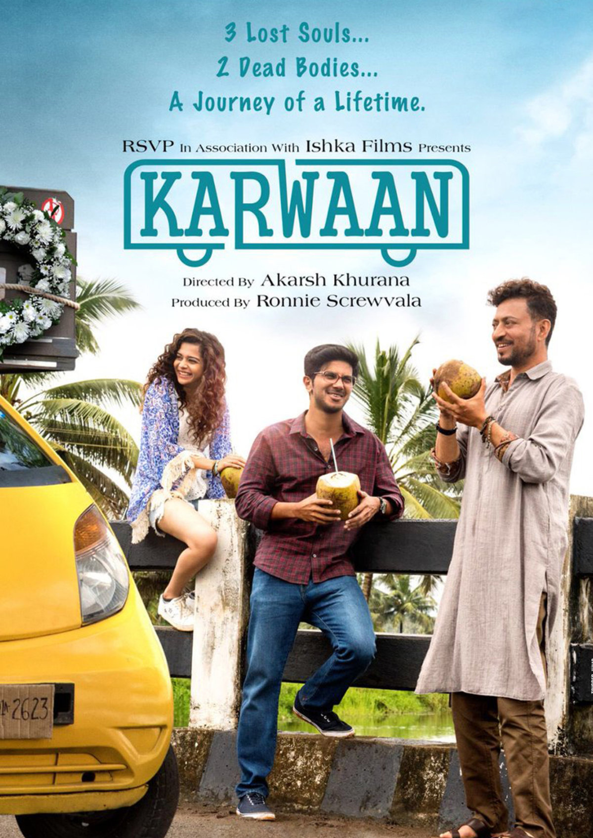 'Karwaan' movie poster