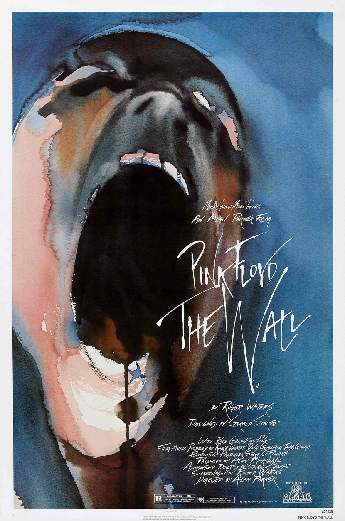 'Pink Floyd: The Wall' movie poster