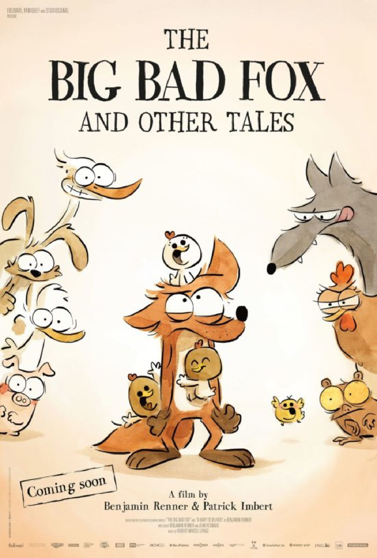'The Big Bad Fox And Other Tales... (Dubbed)' movie poster
