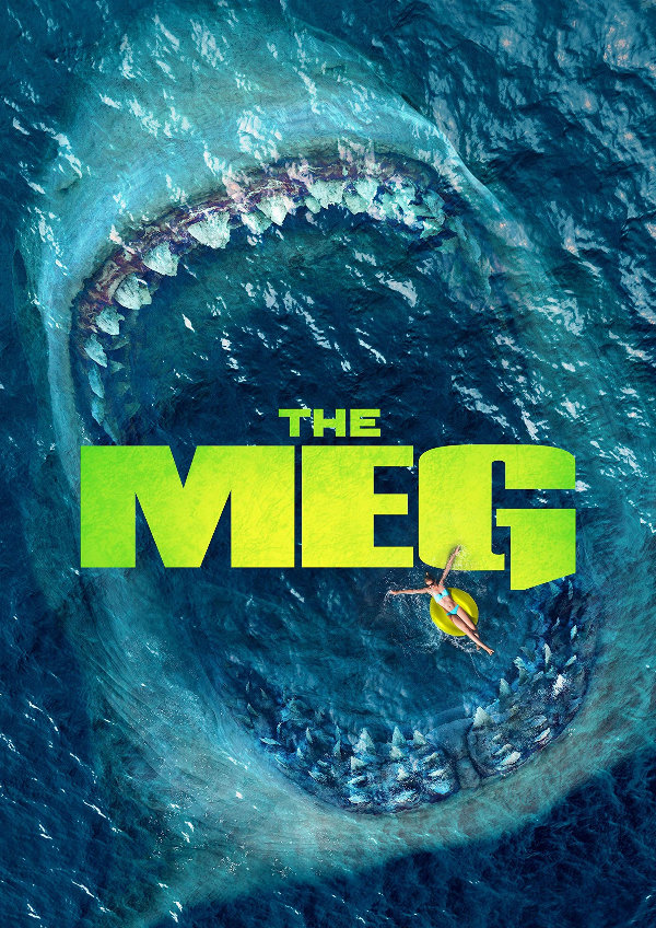 'The Meg' movie poster