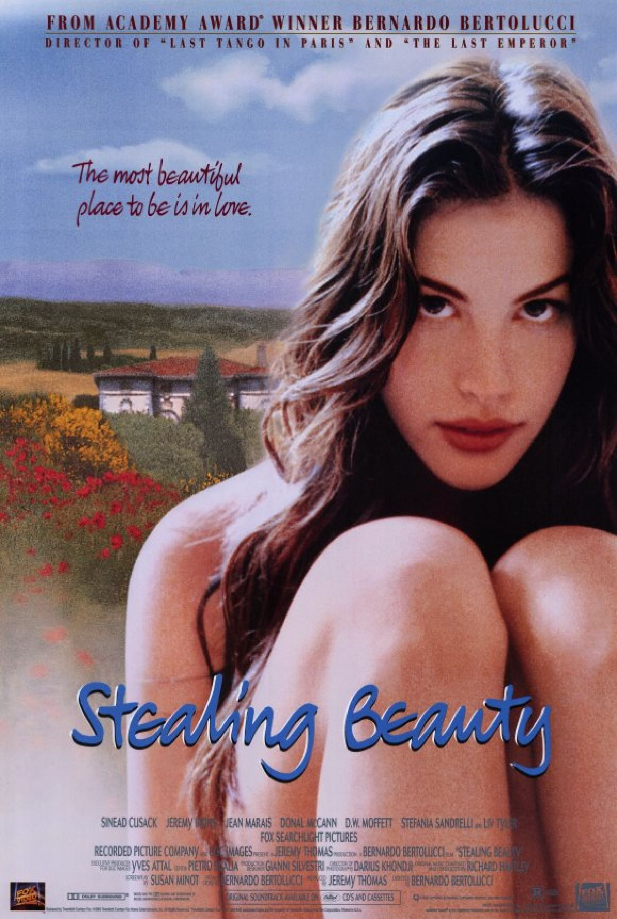 'Stealing Beauty' movie poster