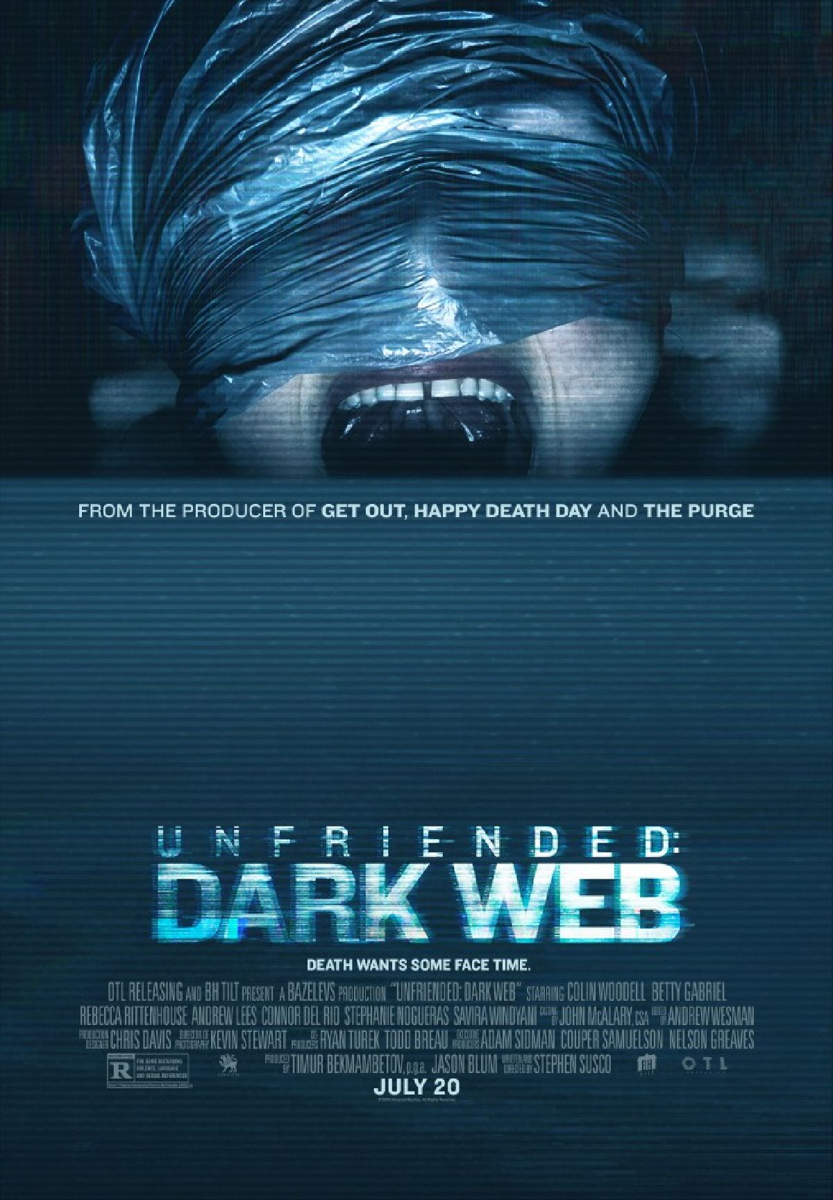 'Unfriended: Dark Web' movie poster