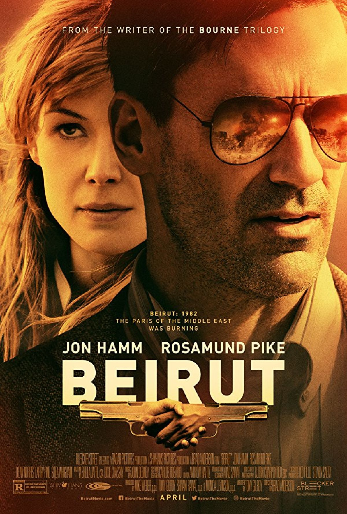 'The Negotiator (Beirut)' movie poster