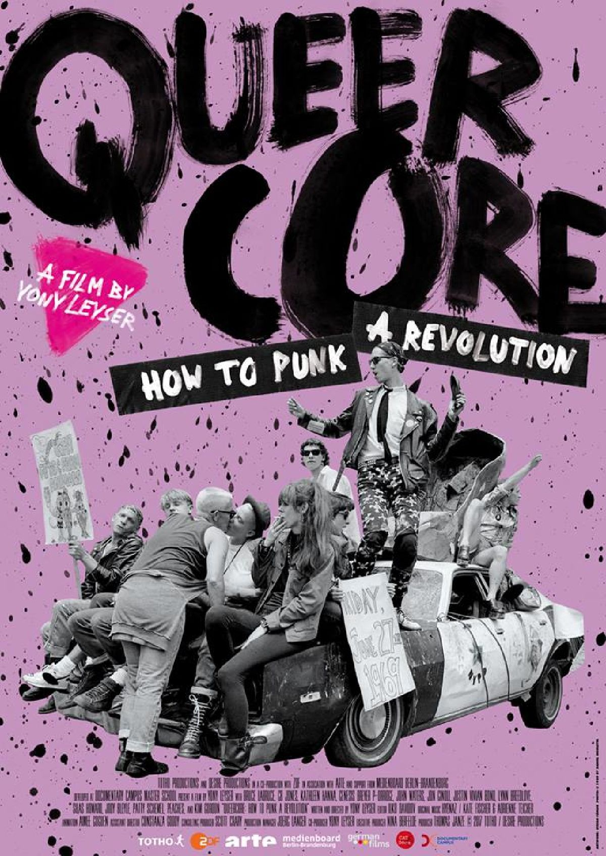 'Queercore: How To Punk A Revolution' movie poster