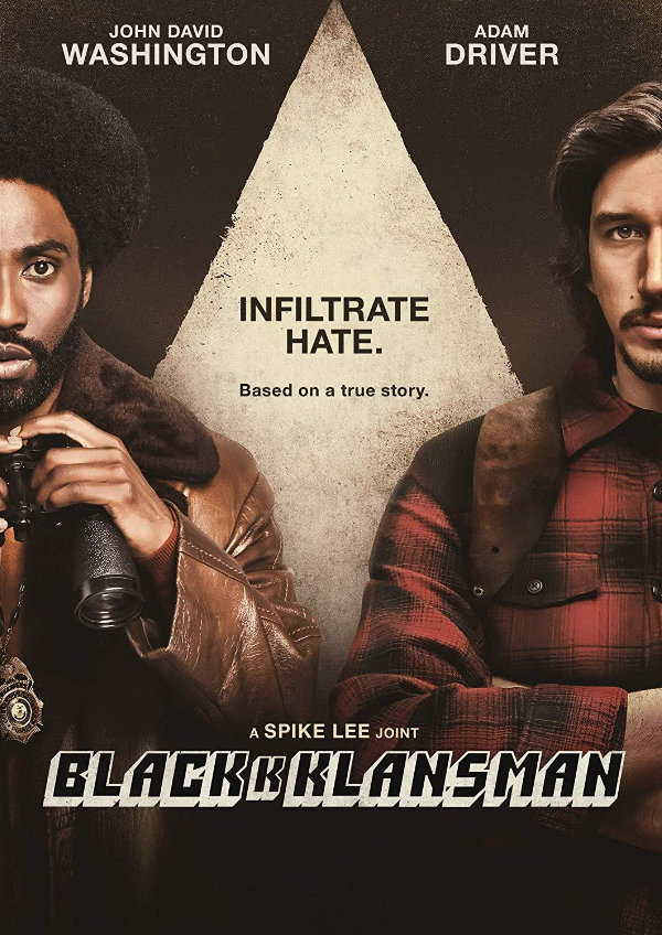 'BlacKkKlansman' movie poster