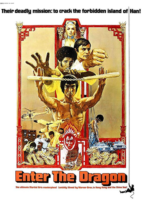 'Enter The Dragon' movie poster