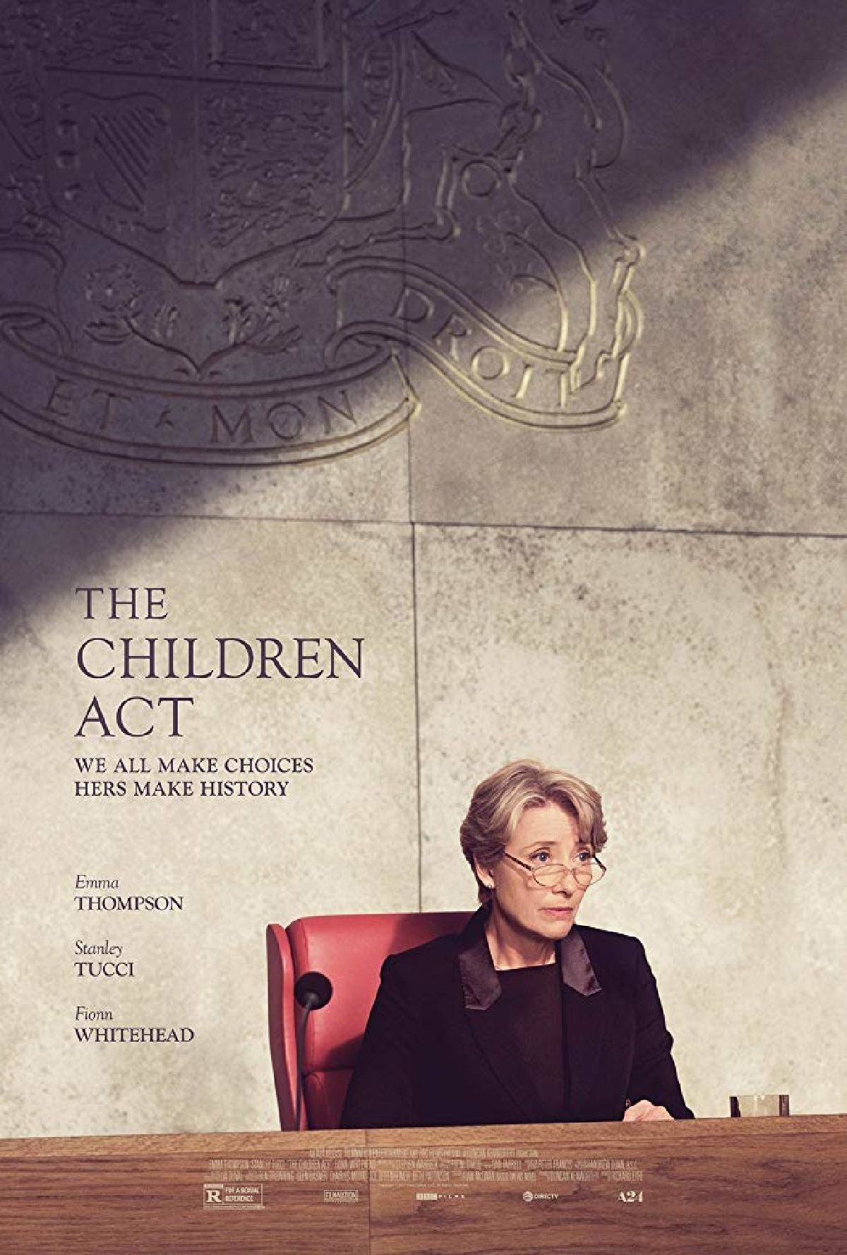 'The Children Act' movie poster