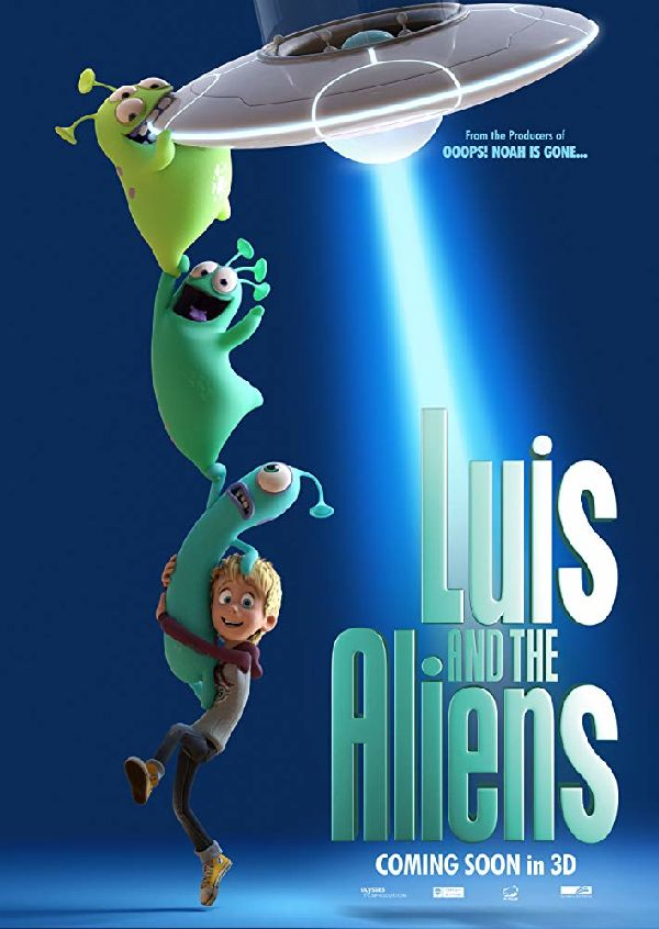 'Luis And The Aliens' movie poster