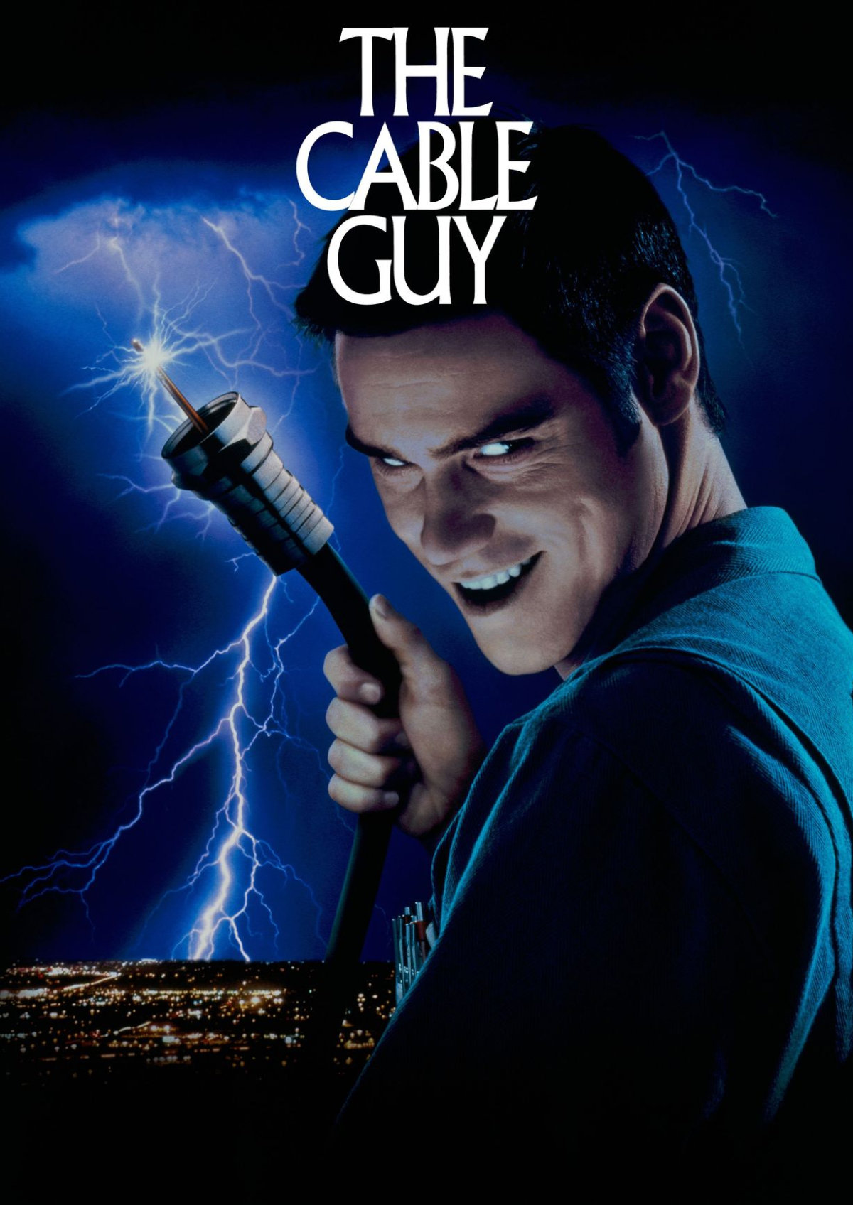 'The Cable Guy' movie poster
